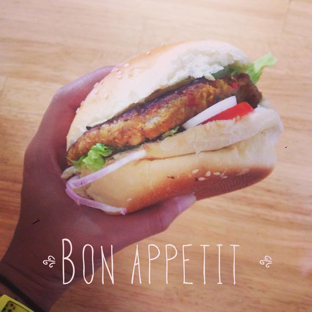#InstaFood : Le Burger végétarien de Perlin Pain Pain