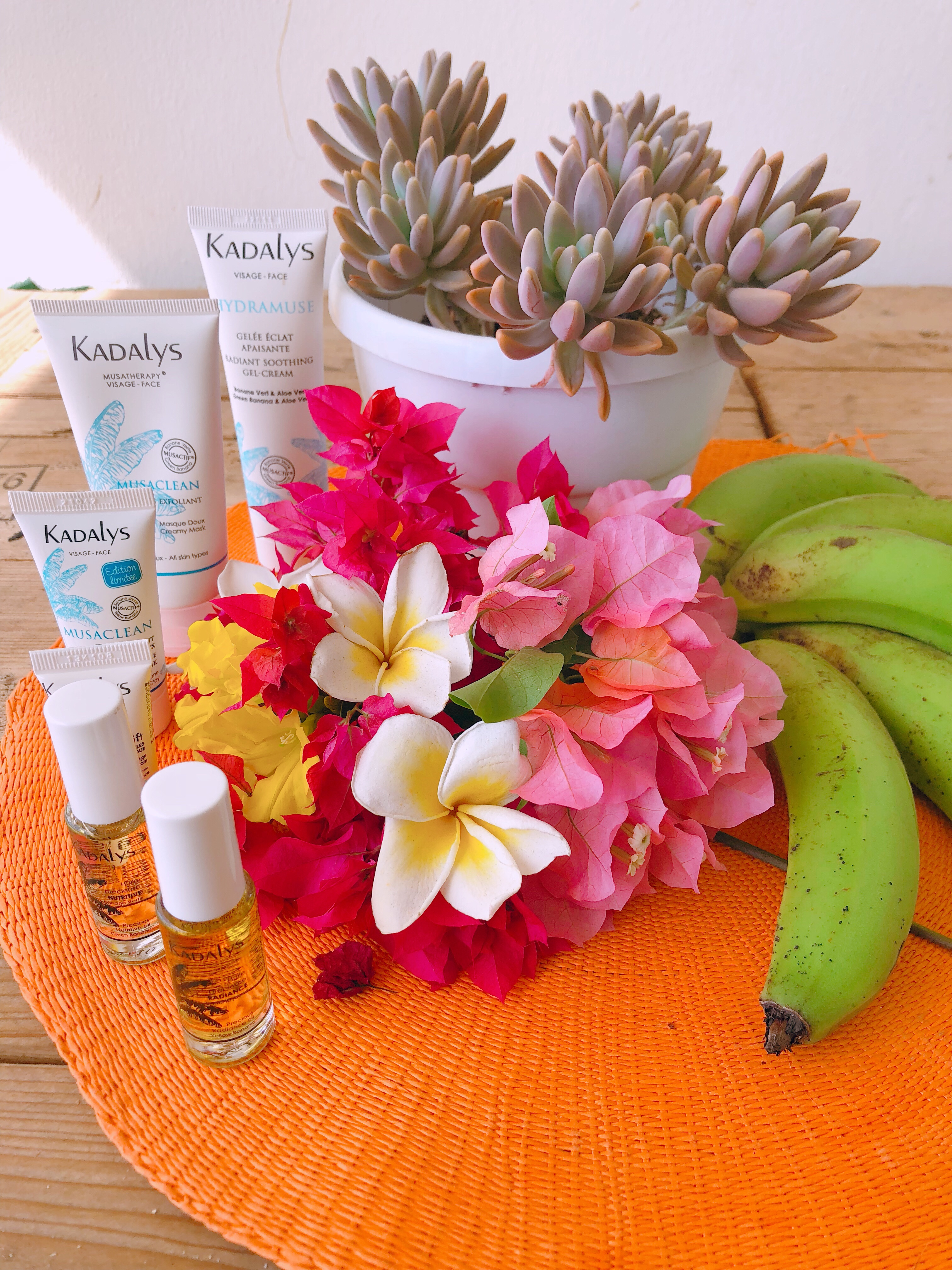 Kadalys, les cosmétiques bio qui ont la banane
