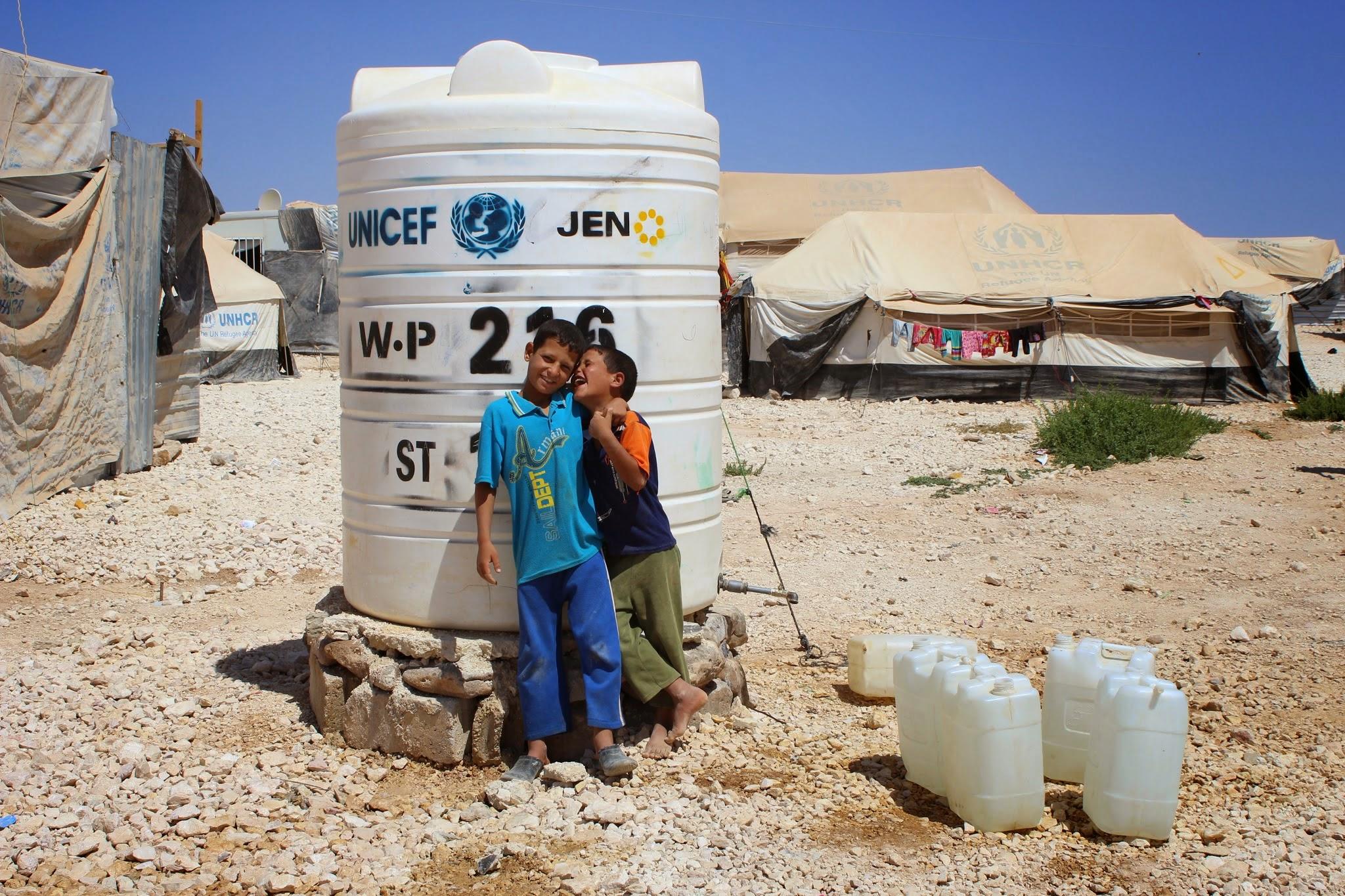 FlashBack: Reportage dans le camp de réfugiés syriens de Zaatari, Jordanie – septembre 2014 –
