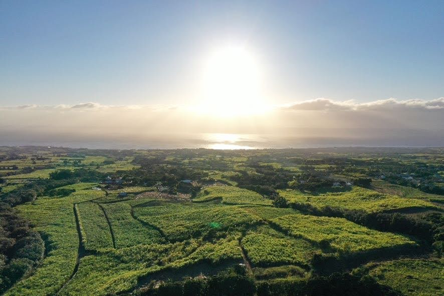 lever de soleil, Est de La Réunion